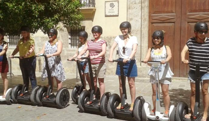 Valencia Medieval (1 Hour on Segway)